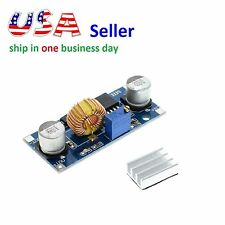 XL4015 DC-DC Step Down Adjustable Power Supply Module LED Lithium Charger Max 5A