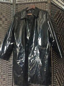 Dorothy Perkins Black PVC Rain Coat 20