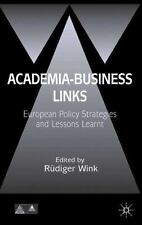 Anglo-German Foundation: Academia-Business Links : European Policy Strategies...