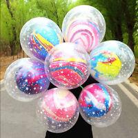 10pcs 12'' Double Layer Latex Balloons Birthday Wedding Christmas Party Decor Ku