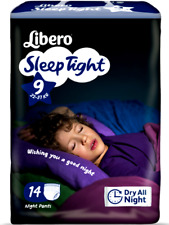 Libero Sleep Tight Couches Culotte Absorbants Nuit de 22 à 60 KG