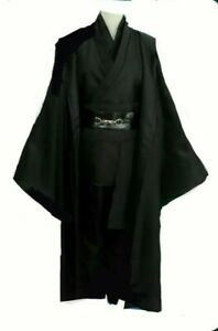 Anakin Skywalker Cosplay Star Wars Jedi Sith Knight Cloak Robe Costume  XXXL
