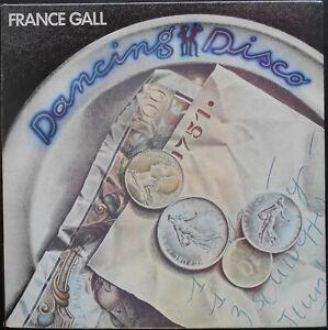 FRANCE GALL DANCING DISCO LP 1977 Quasi neuf