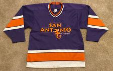 Vintage San Antonio Iguanas Hockey ProWear Bauer Jersey Size S/M