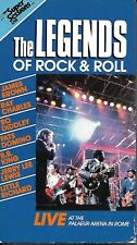 LEGENDS OF ROCK & ROLL - Live At Palaeur In Rome - Rare HBO 1988 Concert VHS