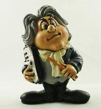 Ludwig van Beethoven Figure Musicien Cadeau Comic Figurine Cake Topper statue nouveau