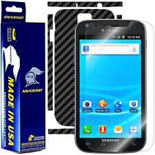 ArmorSuit MilitaryShield Samsung Galaxy S2 T-Mobile Screen Shield + Black Carbon