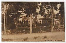 Mechanical Building University California Berkeley 1910c sepia postcard
