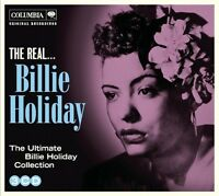 BILLIE HOLIDAY The Real... 3CD BRAND NEW The Ultimate Collection Digipak