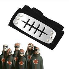 Naruto Forehead Cosplay Headband Protector Leaf Ninja Village Band Anime Blue