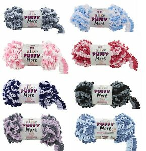NEW Alize Puffy More 150g Ball 8 Colours