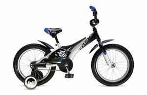 "Trek Jet 16"" Blue With Training Wheels"