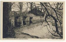Vintage Postcard - The Waterfall, Guy's Cliffe, Near Warwick - Unposted 1895