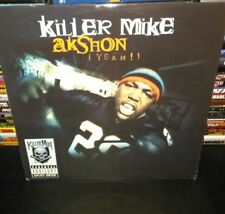 "killer mike "" akshon (yeah !) 12"" single vinyl (unplayed)"