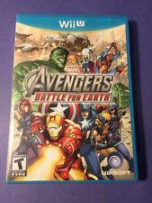 Marvel Avengers = Battle for Earth = (Wii U) USED