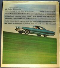 Ref. #69402 Picture 1966 Pontiac 2+2 Hardtop Factory Photo