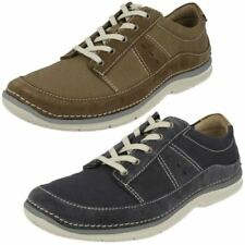 Zapatos informales de hombre textil de color principal azul