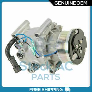 Sanden OEM AC Compressor for Chrysler Town & Country/ Dodge B1500, 2500, 3500 QR