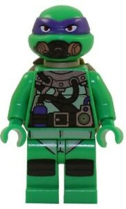 Lego Teenage Mutant Ninja Turtles Donatello Scuba Gear tnt031 (From 79121) New