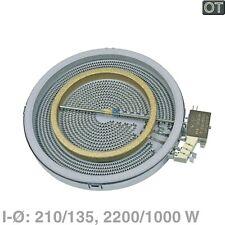 Heizkörper Ceran Glaskeramik BSH 00436626 210/135mm 2200/1000W Ego 10.51213.492