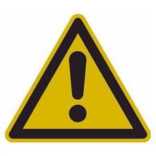 SafetyMarking® Warnschild Folie 10 St. Gefahrstelle SL 50mm