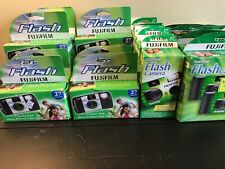 30 Fuji Quicksnap Flash Disposable Camera 35mm Film 800 Iso See dates below