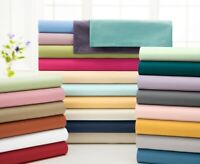 Best Price 5 PCs Split Sheet Set 1000 TC Egyptian Cotton Solid Colors AU Sizes