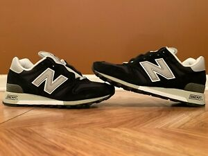 New Balance 1300 Black Gray Made in USA Running Shoes Men's 7 Womens 8.5 M1300AE