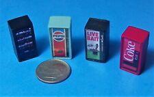 HO 1:87 Railroad Train POP Soda Machine HANDMADE COKE Snacks BAIT PEPSI DRINKS