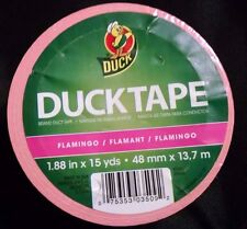 Duck Brand Flamingo Printed Duct Tape, 1.88 Inches x 10 Yards, Single New