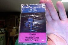Lonzo and the World Class Wreckin' Kru- Turn Off Lights Fast Lane- new cassette