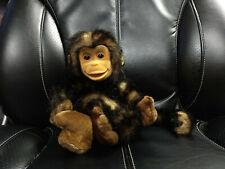 Animal Alley Baby Monkey Ape Gorilla Plush Hand Puppet Full Body EUC