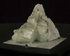 """2.1"""" Silver Gray Hairy MILLERITE Needle Crystals on Calcite Ollie Iowa for sale"""