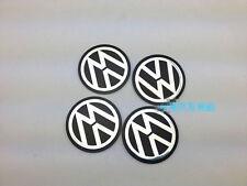 4pcs 55.5mm Car Wheel Center Hub Caps Plane Sticker Emblem Badge VW 2