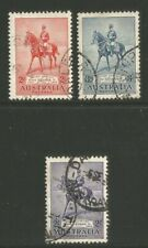 Australia 1935 King George V Silver Jubilee-Attractive Topical (152-54) used