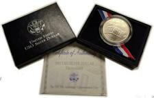 1991 USO Silver Dollar Uncirculated Original Packaging and COA