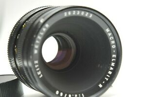 Leica 60mm f/2.8 Macro Elmarit-R 3 Cam Lens for Sony Fuji Mirrorless A7 6500