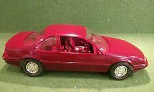 #6059  Ertl AMT 1989 garnett beretta Gt Promo Car  Model W/ Box