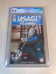 Usagi Yojimbo Issue #1 Comic. Alex Kotkin Excelsior. CGC Grade 9.2. IDW. Sakai