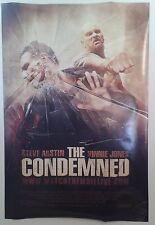 """THE CONDEMNED double sided movie poster 27""""x 40"""""""