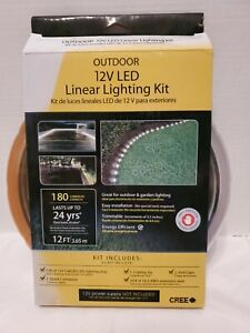 CabLED 12v 180 lumens 12ft LED Outdoor Landscaping Light Kit by Cree 2 pack