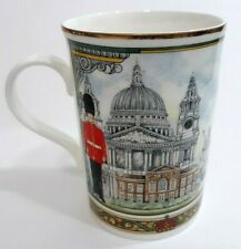 James Sadler Horseguards Coffee Tea Mug Cup Fine Bone China 12 Ounce England