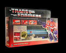 Transformers classics after engraving G1 pearl color optimus prime + car (limite