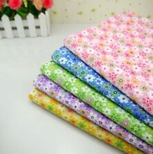 One PCS Cotton Floral Fabric Pre-Cut Plain Cotton cloth Fabric For Sewing
