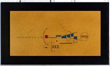 ABZU 95 - acrylique et crayon sur bois - Abstrait