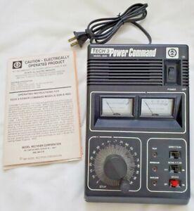 MRC Model Railroad Train Controller Tech 3 Power Command Model 9500-Tested