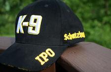 "K-9 ""IPO"" Schutzhund Hat - CUSTOM ONE-OF-A-KIND! (Gold-White/Black)"