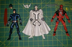 marvel legends 6 inch action figures lot! Deadpool, magneto,  cyclops