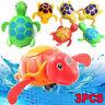 3* Cute Wind-up Swimming Turtle Tortoise Pool Toy For Baby Kid Bath-Bathtub.Time