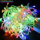 100/200 LED árbol de Navidad Fiesta Jardín Luces De Cuerda Decoración Bombilla